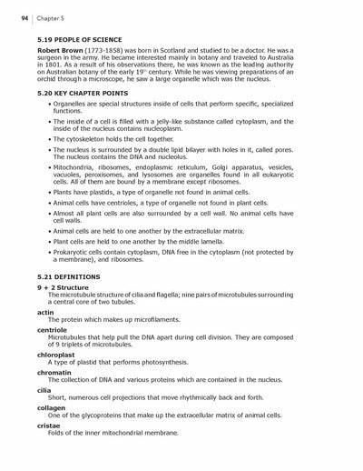 Science Shepherd Biology Homeschool Curriculum textbook chapter 5 sample page 6