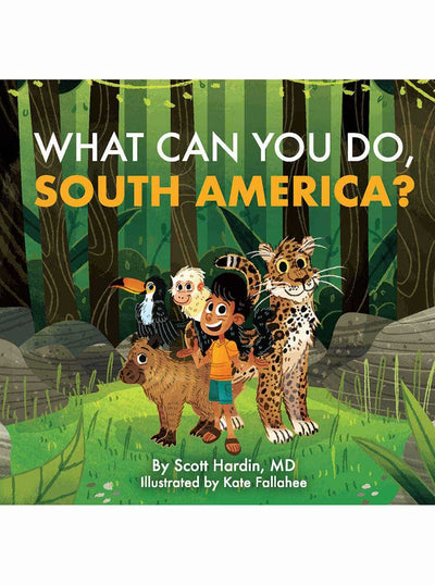 What Can You Do South America? Christian board books for babies cover