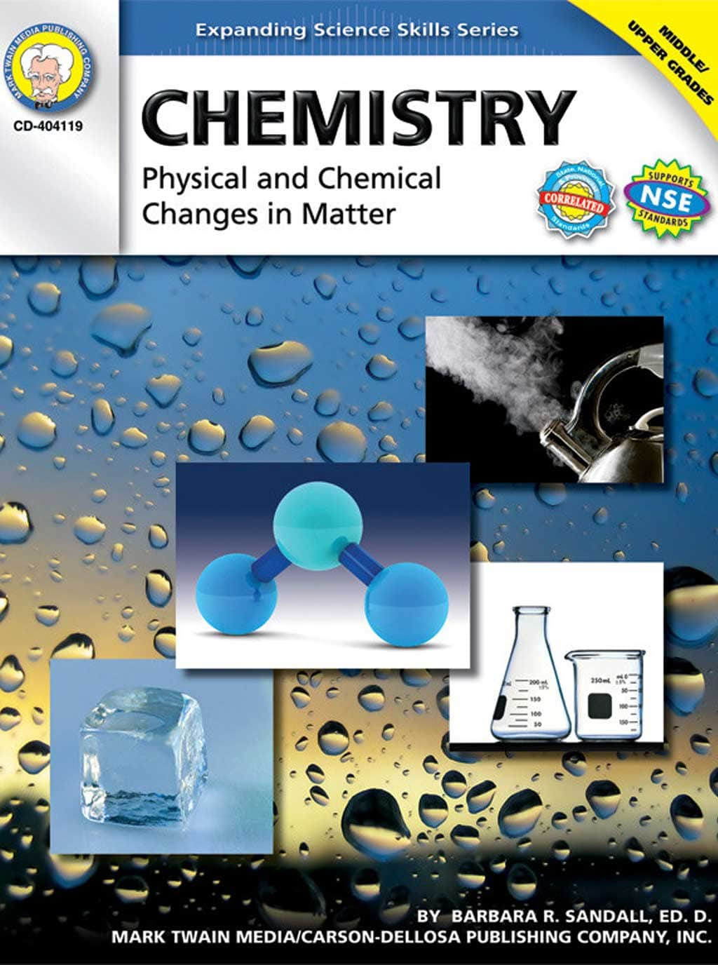 Science Shepherd homeschool chemistry lab activity book cover
