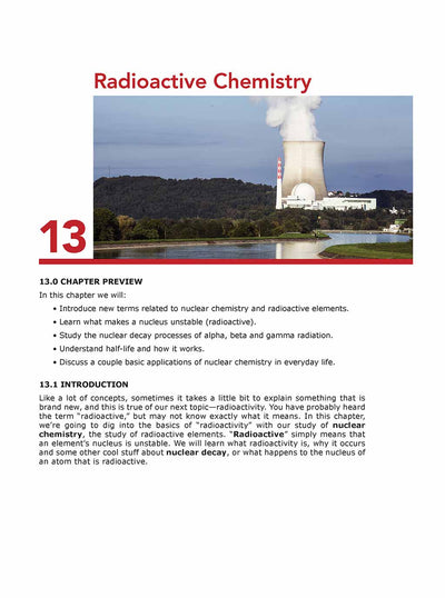 Science Shepherd homeschool Chemistry curriculum textbook sample page 1