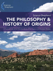 The Philosophy & History of Origins creation science book cover