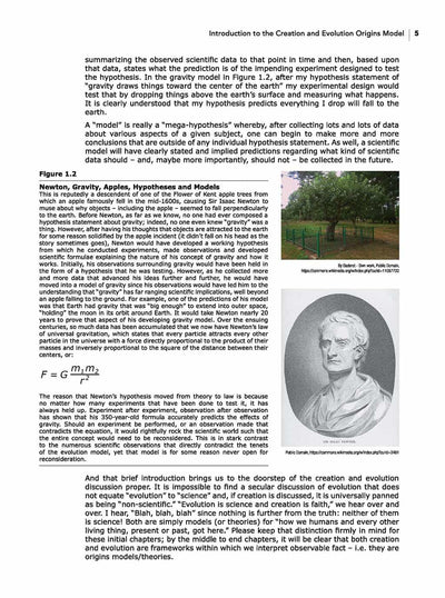 Science Shepherd The Philosophy & History of Origins chapter 1 page 2 sample