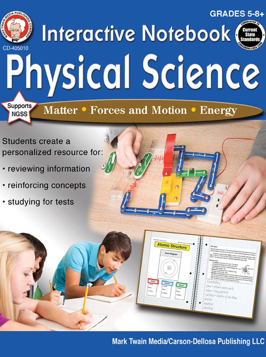 Science Shepherd Physics homeschool curriculum activity book cover