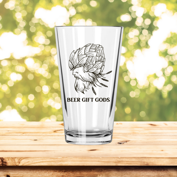 Beer Gift Gods Pint Glass