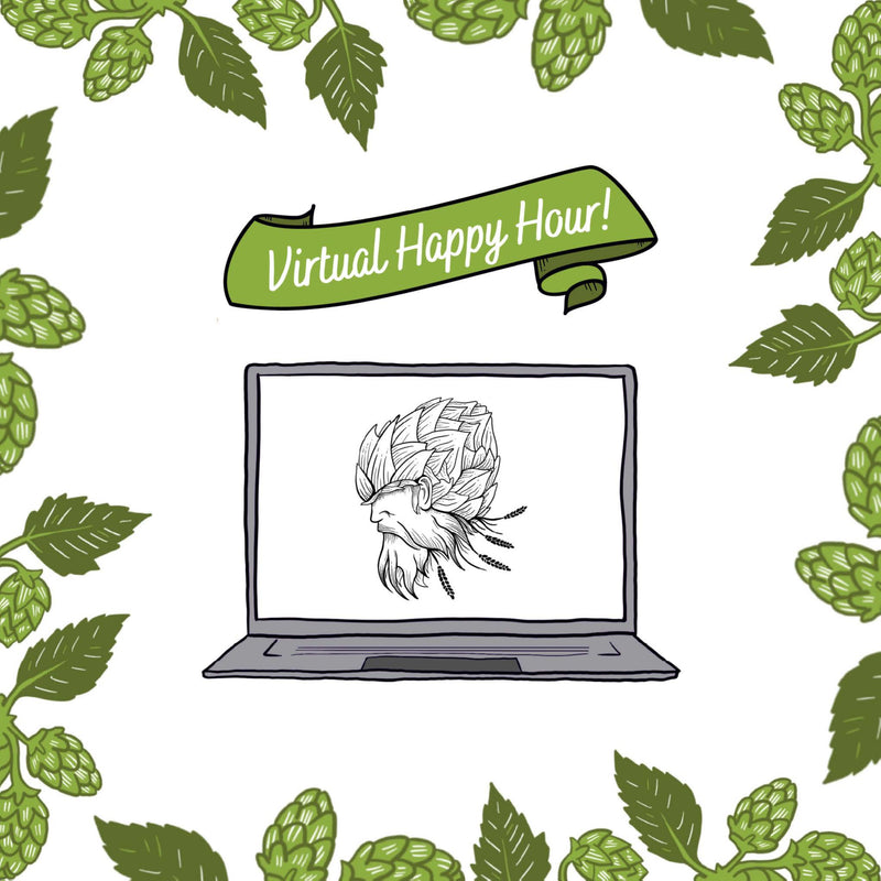 Virtual Happy Hour Card