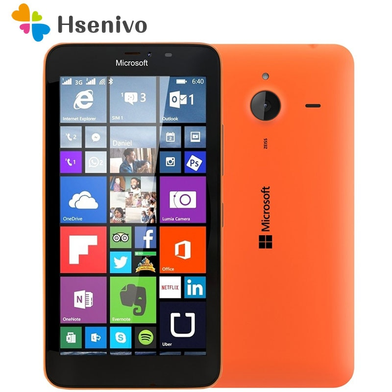 Original Nokia Microsoft Lumia 640/640XL Quad-core 8GB ROM 1GB RAM Unlocked Mobile Phone 4G WIFI GPS 13MP Cell Phone Free ship