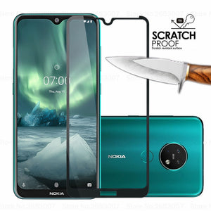 3D Full Cover Tempered Glass For Nokia 7.2 9 2.2 4.2 3.2 8.1 7.1 5.1 Plus X5 Screen Protector Tempered Glass For Nokia 9 8 7 2 3