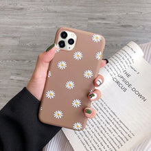 Cargar imagen en el visor de la galería, moskado Art Floral Daisy Phone Case For iPhone 11 X XR XS Max 6S 7 8 7Plus 5 Fashion Daisy Flower Case Soft TPU Back Cases Cover