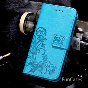 Butterfly Flip Leather Case For Samsung Galaxy S3 S4 S5 Mini S6 S7 Edge Note3 4 5 G530 G360 A310 A510 J1 J3 J120 J510 Cover