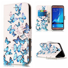 Cargar imagen en el visor de la galería, A3 2016 A5 2017 PU Leather Case For Samsung Galaxy J510 J5 J710 Phone Cover For Samsung J7 2016 Coque For Samsung J510 Case j3