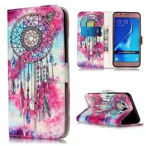 A3 2016 A5 2017 PU Leather Case For Samsung Galaxy J510 J5 J710 Phone Cover For Samsung J7 2016 Coque For Samsung J510 Case j3