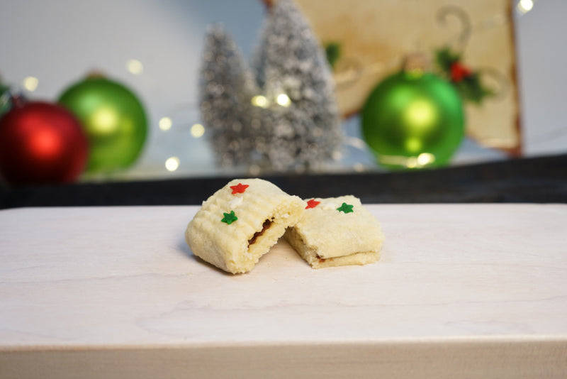 Candy Cushion Christmas Cookies