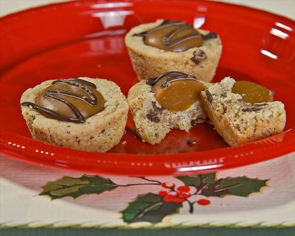Caramel Chipit Christmas Cookies