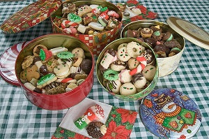 Large Tin Assorted Cookies