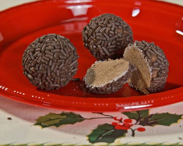 Rum Ball Christmas Cookies