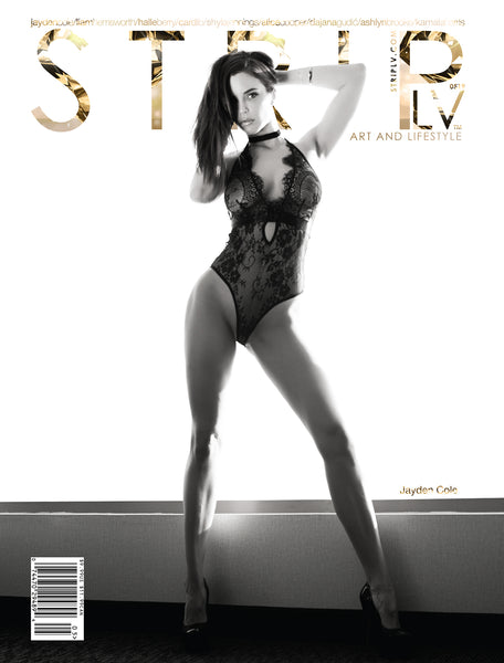 STRIPLV Issue 0519 with Jayden Cole, Liam Hemsworth, Halle Berry, Cardi B, Shyla Jennings, Alice Cooper, Dajana Gudic, Ashlynn Brooke, Kamala Harris and more