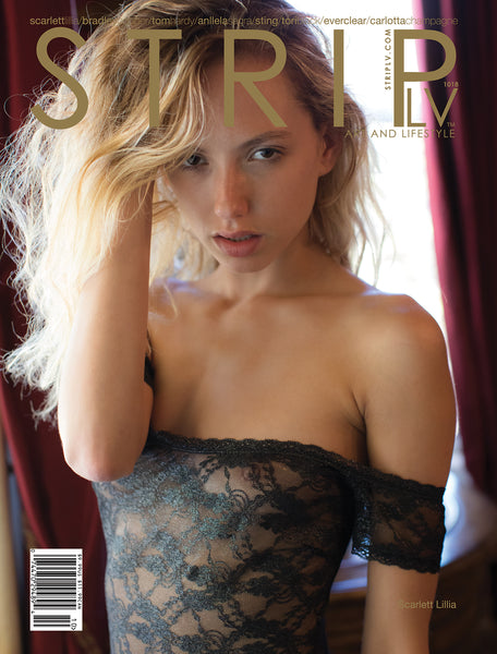 STRIPLV Digital Issue 1018 with Scarlett Lillia, Bradley Cooper, Tom Hardy, Anllela Sagra, Tori Black, Sting, Shaggy, Everclear, Алёна Аганова, Carlotta Champagne, Veronica LaVery, Violet Summers and more.