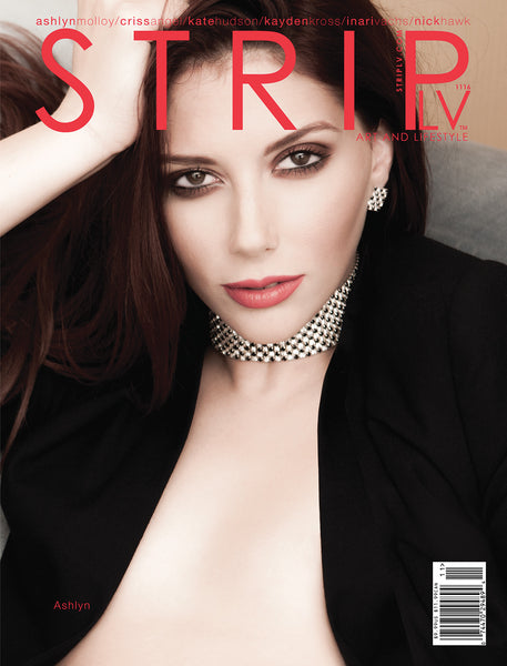 STRIPLV Digital Issue 1116 with Ashlyn Molloy, Criss Angel, Kate Hudson, Kayden Kross, Inari Vachs, Nick Hawk, Carrie Underwood and more