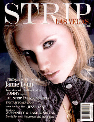 Strip Las Vegas Mag - Jan'06 FIRST ISSUE Jamie Lynn, Jesse Jane, Charlie Laine, August