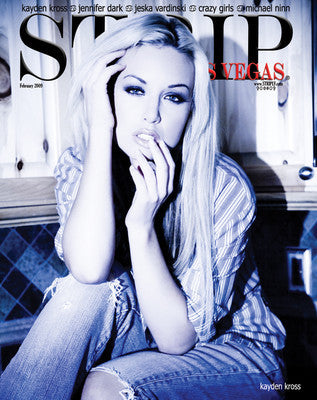 STRIPLV Issue 0209 - February 2009 Kayden Kross, Jennifer Dark, Jeska Vardinski