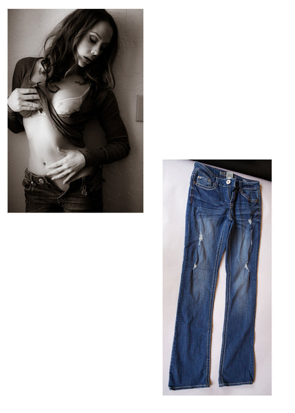 Chanel Preston Jeans from her shoot with Striplv Magazine