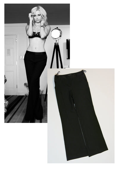 "Danielle Trixie ""International Concepts"" Pants as seen in her shoot with STRIPLV Magazine"