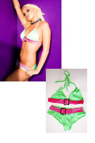 Jeska Vardinski Bikini from shoot with STRIPLV Magazine