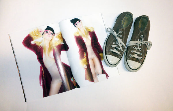 Jesse Jane Converse Shoes from her shoot with Striplv Magazine