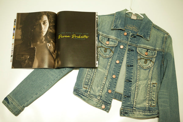 Raven Rockette Jacket as Seen in her Cover Shoot with Striplv Magazine