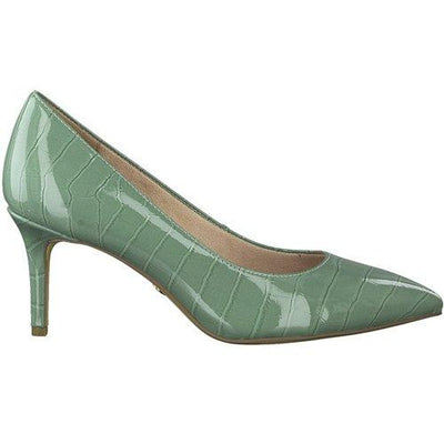 Tamaris Dressy Court Shoes - 22421-24 - Green