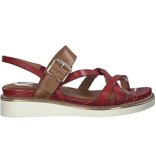 Tamaris Wedge Sandals  - 28252-24 - Red
