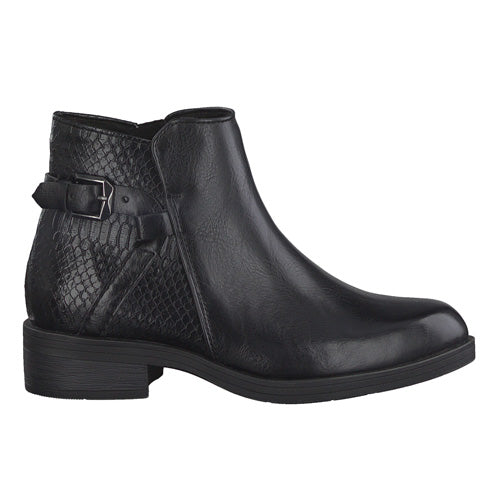 Marco Tozzi Ankle Boots - 25025-25 - Black