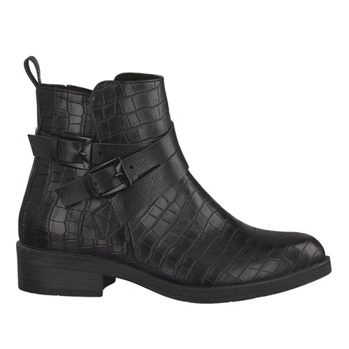 Marco Tozzi Ankle Boots- 25027-25 - Black