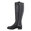 Marco Tozzi Leather Knee Boots- 25505-25 - Black