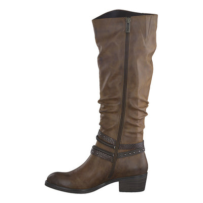 Marco Tozzi Knee Boots - 25507-25 - Tan