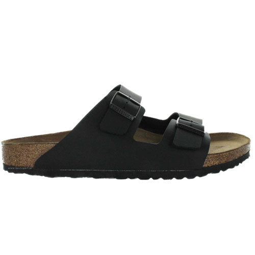 Birkenstock Flat Sandals - Arizona BF - Black