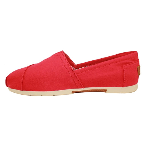 Zanni - Drilleys - slip on - canvas - Red