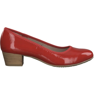 Jana Pumps - 22360-24 - Red Patent