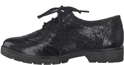 Jana Brogues  - 23761-21 - Black
