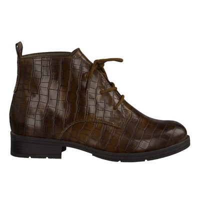 Jana Ankle Boot - 25160-35 - Brown Croc