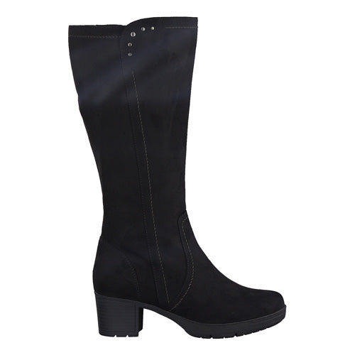 Jana Knee Boots - 25662-23 - Black