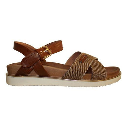 Escape Ladies Wedge Sandal - Andover - Tan