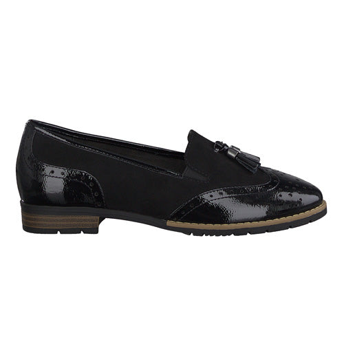 Jana Loafers - 24260-20- Black