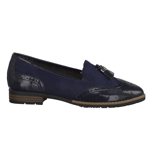 Jana Loafers - 24260-20 - Navy