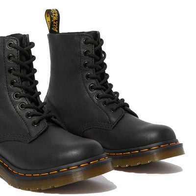 Dr Martens Leather 8 Eye Boots- 1460 - Black