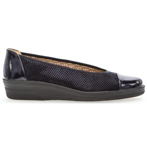 Gabor  Low Wedge Pump - 66.402 - Navy