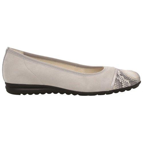 Gabor Low Wedge Pumps - 62.622 - Silver