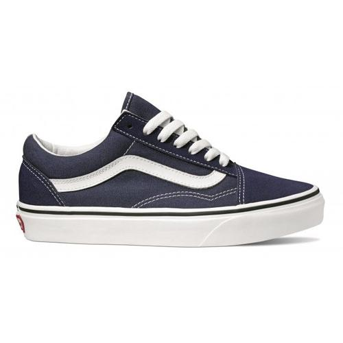 Vans Old Skool Skate Shoes  -  Retro - Navy