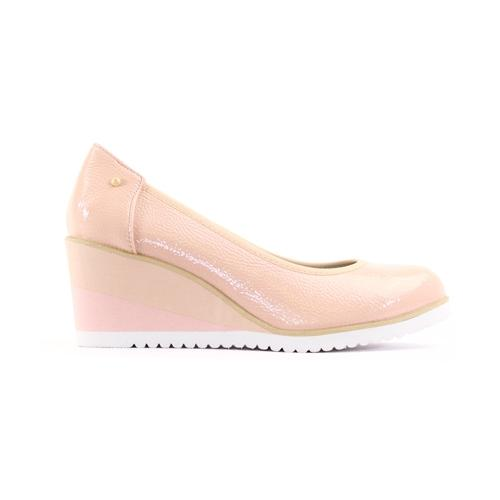 Zanni Wedge Shoe - Fulford - Pink