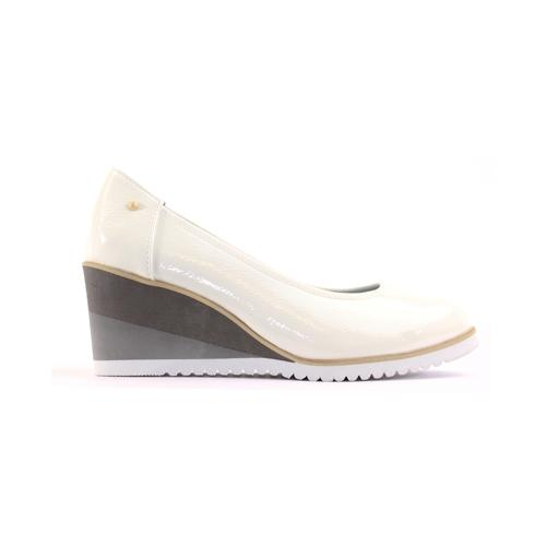Zanni Wedge Shoe - Fulford - White